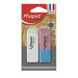 Maped Gomme Dessi+Gomme Encre