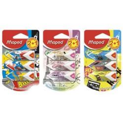 Maped 2+1 Gommes Pyramide