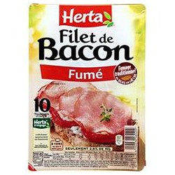 Herta Filets De Bacon 100G