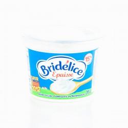 Bridelice Crème Fraîche Épaisse Légère 15%Mg Bridélice 20Cl