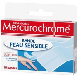 Bande Peau Sensible Mercurocrochrome