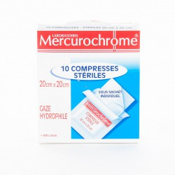 Compresses Steriles 20X20