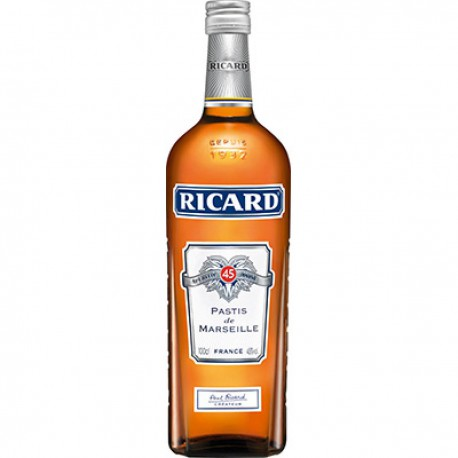 Ricard Aperitif Anise 45%V Bouteille 1L