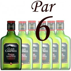 6X20Cl Whisky Clan Campbell 40°