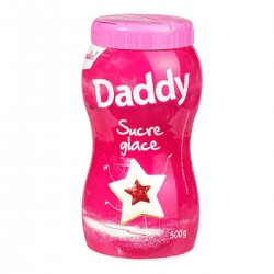 Daddy Sucre Glace Boite Saupoudreuse 500G