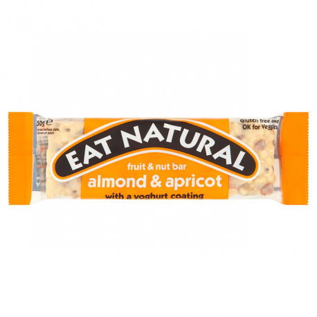 Eat Natural Barre Aman/Abr 50G