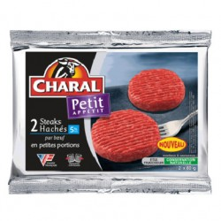 Charal Steaks Haches 5% 2X80G