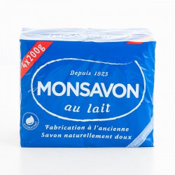 Monsavon Savon L`Autentique 4X200G