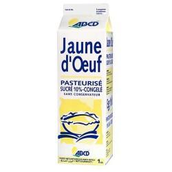 1Kg Jaune D Oeuf Patissier Sucre 10% Abc