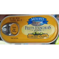 Miceli Flt Anchois All Ho 50Gr