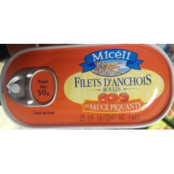 Miceli Flt Anchois Sce Piq.50G