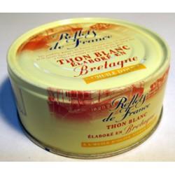 Bte 1/5 Thon Blanc Huile D Olive Reflets De France
