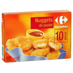 200G Nuggets Poulet Carrefour
