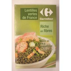 500G Lentille Verte France Crf