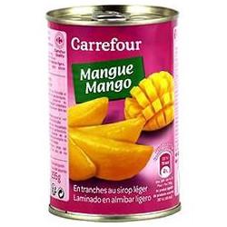 1/2 Mangue Tranc.Sirop Leg.Crf