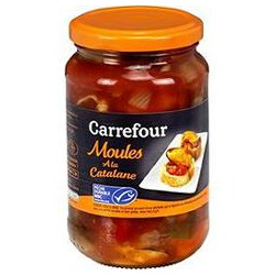 350G Moules Catalane Carrefour