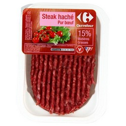 125G Steak Hache 15% Crfm