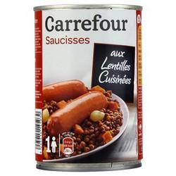 1/2 Saucisse Lentilles Crf