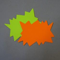 50 Eclats Jaune/Org Fluo 24Cm