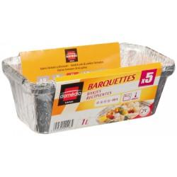 Domedia Barquettes Alu 1L