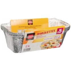 Domedia Barquettes Alu 1.5L