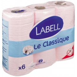 Labell Ph Rose 2P 6 Rouleaux
