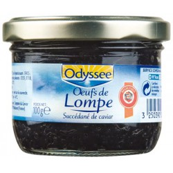 Odyssee Oeufs Lompe Noirs 100G