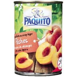 Paquito Peche Sirop 1/2 230G