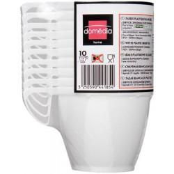 Dom Tasses Cafe 10Cl Blc