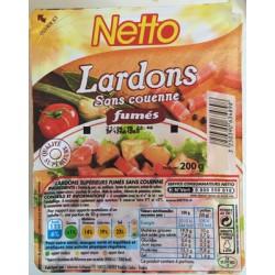 Netto Lardons Fumes 200G