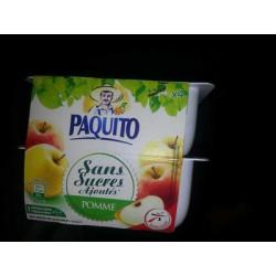 Paquito Puree Pom Ssucre4X100G