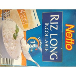 Netto Riz Lg Incollable 4X125G
