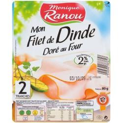 Ranou Flt Dinde Dore 2Tr 80G