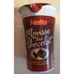 Netto Mousse Chocolat 70G