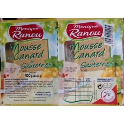 Ranou Mousse Canard Saut 2X50G