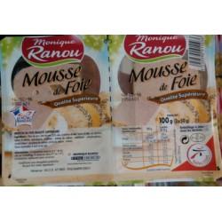 Ranou Mousse De Foie Sup 2X50G