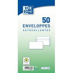 Pq.50 Enveloppes Autocol- Lantes 110X220