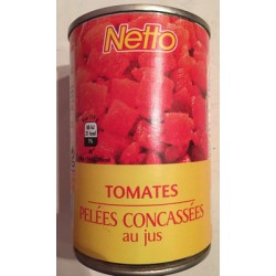 Netto Tomat Concasse 390G