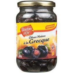 Bouton Dor Oliv.Noir.Grec250G