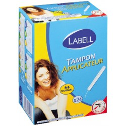 Labell Tampon Appl.Normal X24