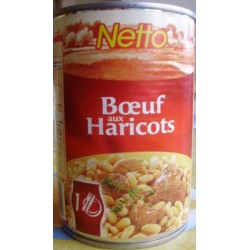 Netto Boeuf Aux Haricots 400 G
