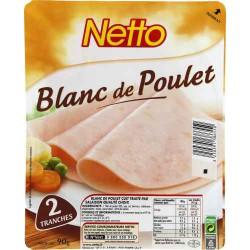 Netto Blanc Poulet 2T 90G