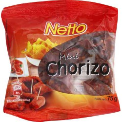 Netto Mini Chorizo 75G