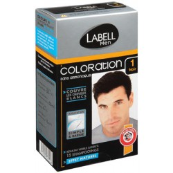 Labell Men Coloration Noir