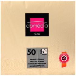 Dom Serv 33X33Cm X50 Ivoire