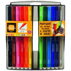 Domedia Boite 12Feut.Coloriage