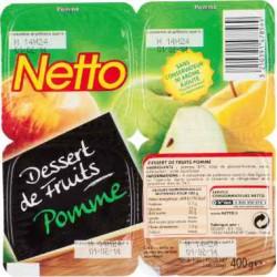 Netto Dessert Frt Pomme 4X100G