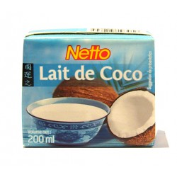 Netto Lait De Coco 200Ml