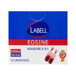 Labell Eosine Aqueuse 2% X10