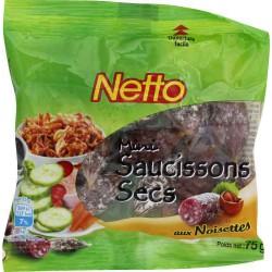 Netto Mini Saucisson Noiset75G